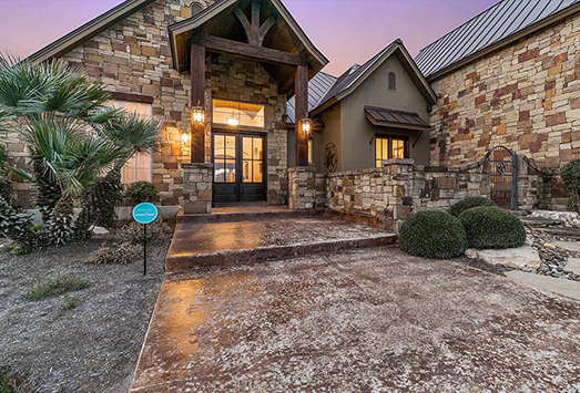 Texas Hill Country Custom Homes Stone Creek Custom Home